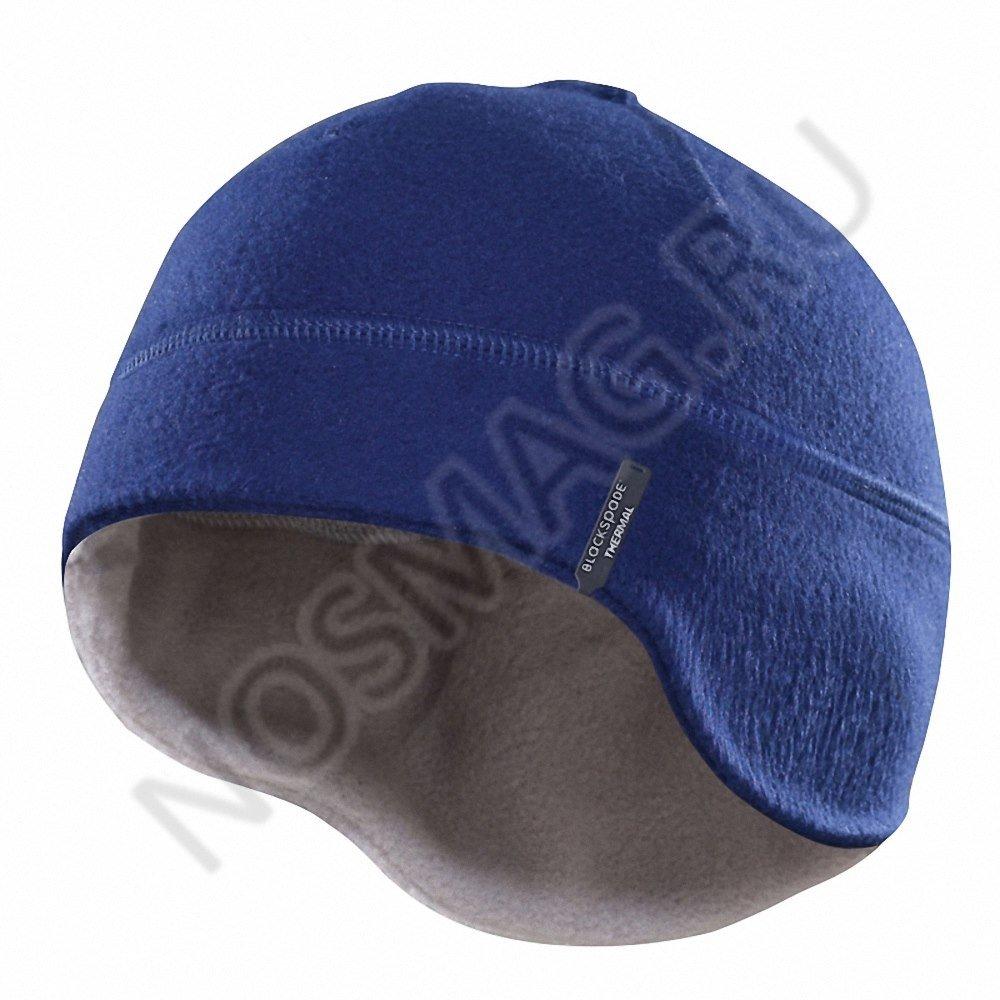 Термошапка blackspade темно-синия/серая