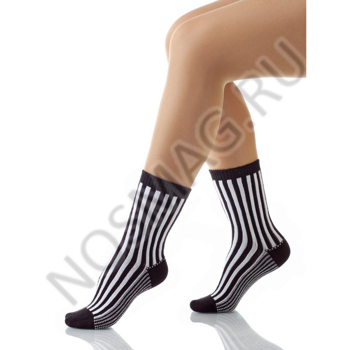 Носки женские хлопковые Charmante черные