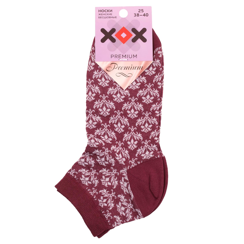 Женские укороченные носки из мерсеризованного хлопка ХОХ