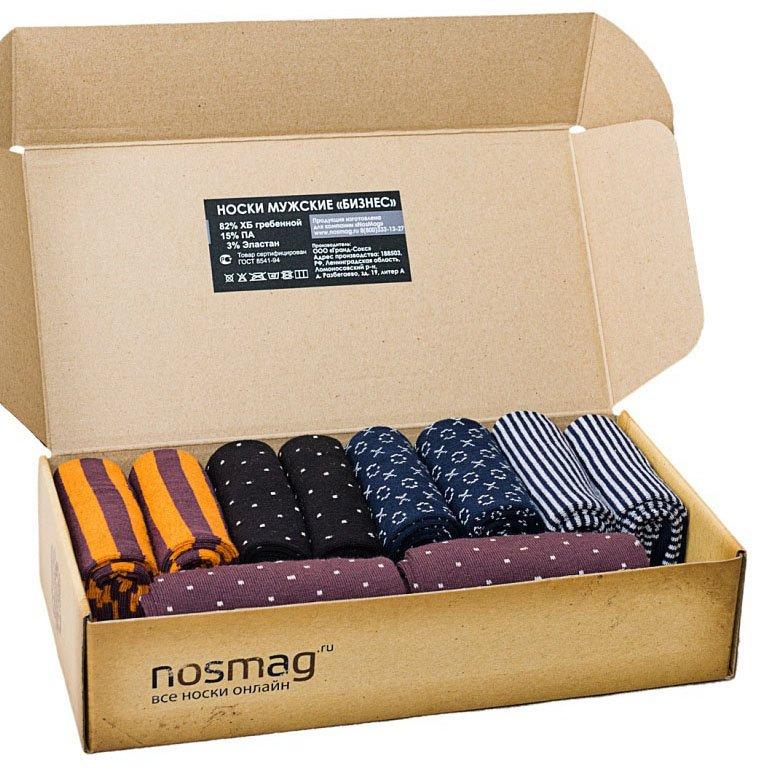 Набор носков из 10 пар с сургучной печатью (Stylish, «Гранд-Сокс»)