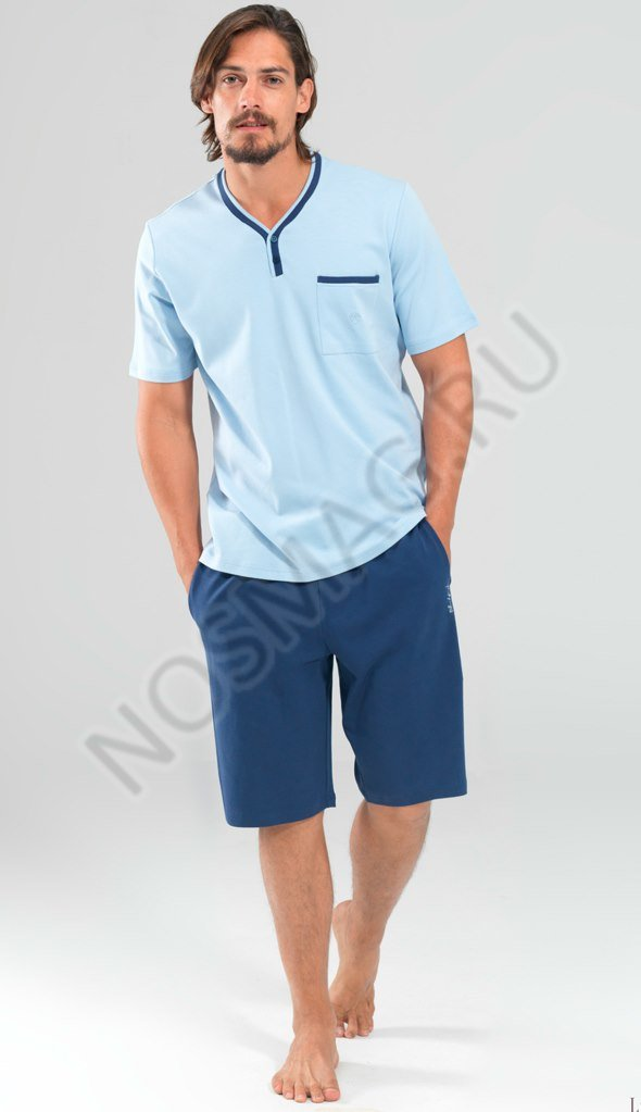 Мужской домашний комплект blackspade светло синие