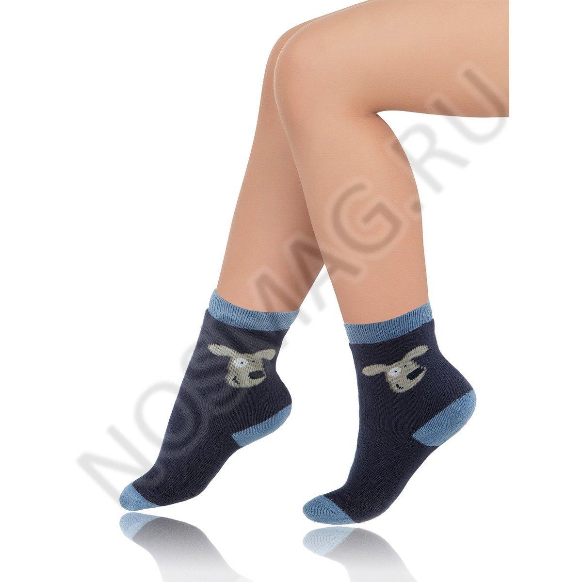 Носки детские хлопковые Charmante синие