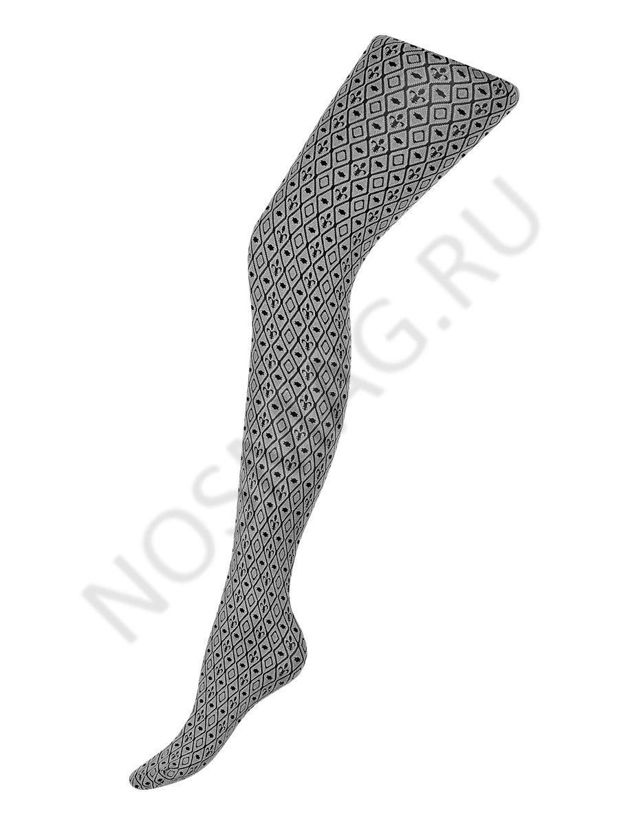 Колготки женские bersaglia 80 Charmante светло-серый/чёрный