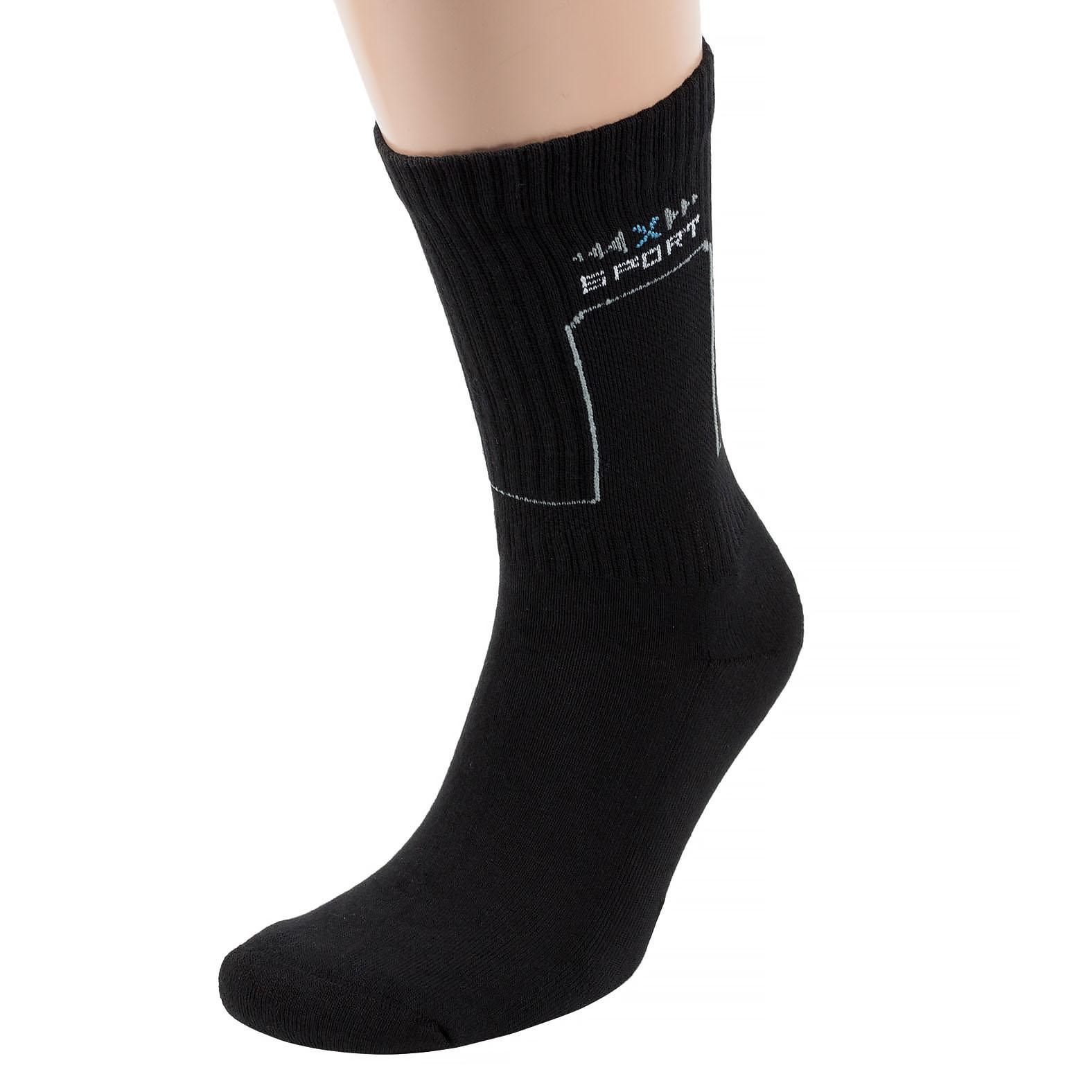 Мужские носки с махровым следом ХОХ