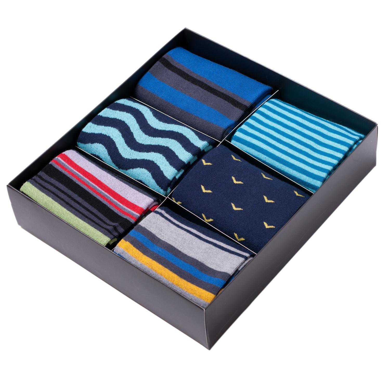 Набор из 6 пар мужских носков Tezido