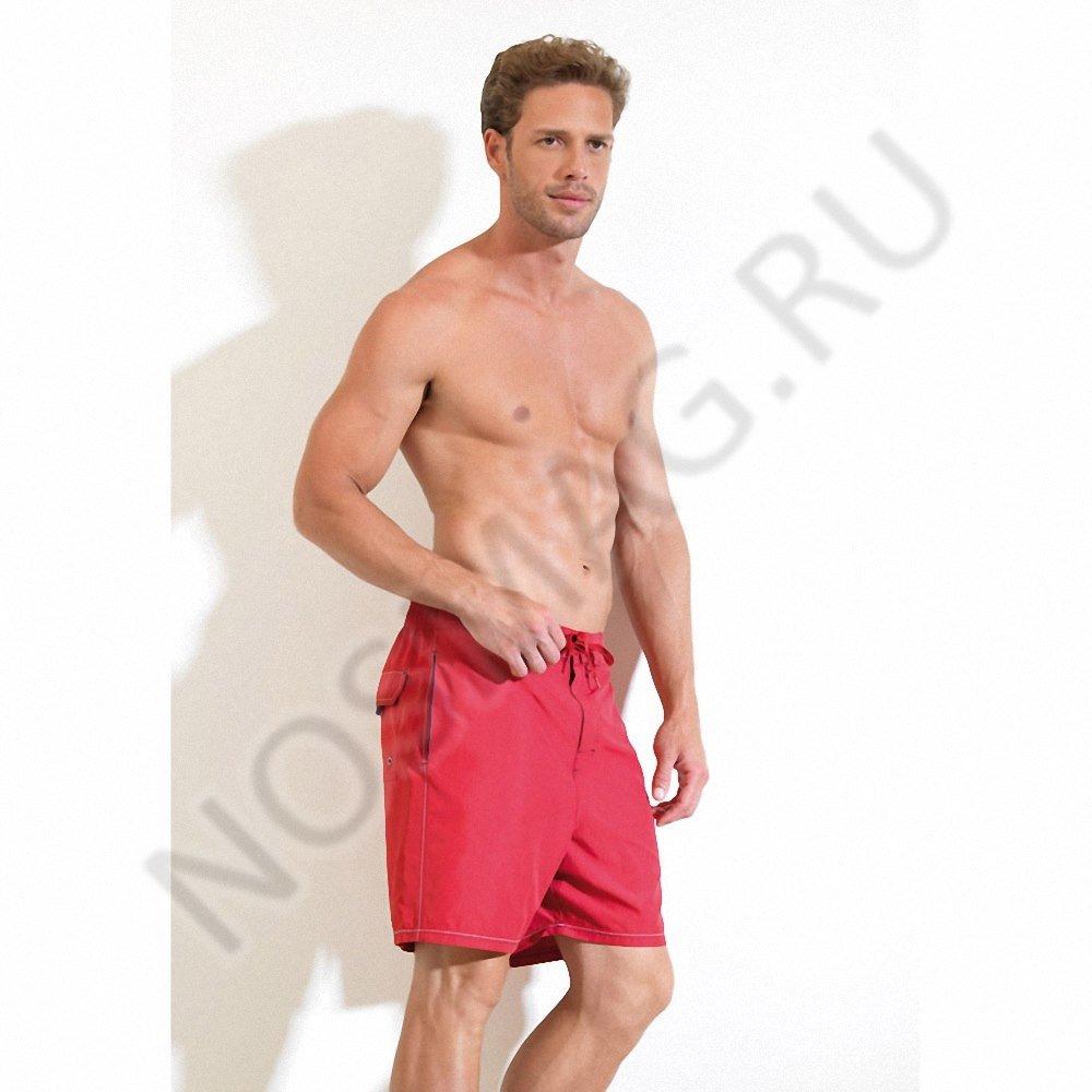 Мужские шорты blackspade красные