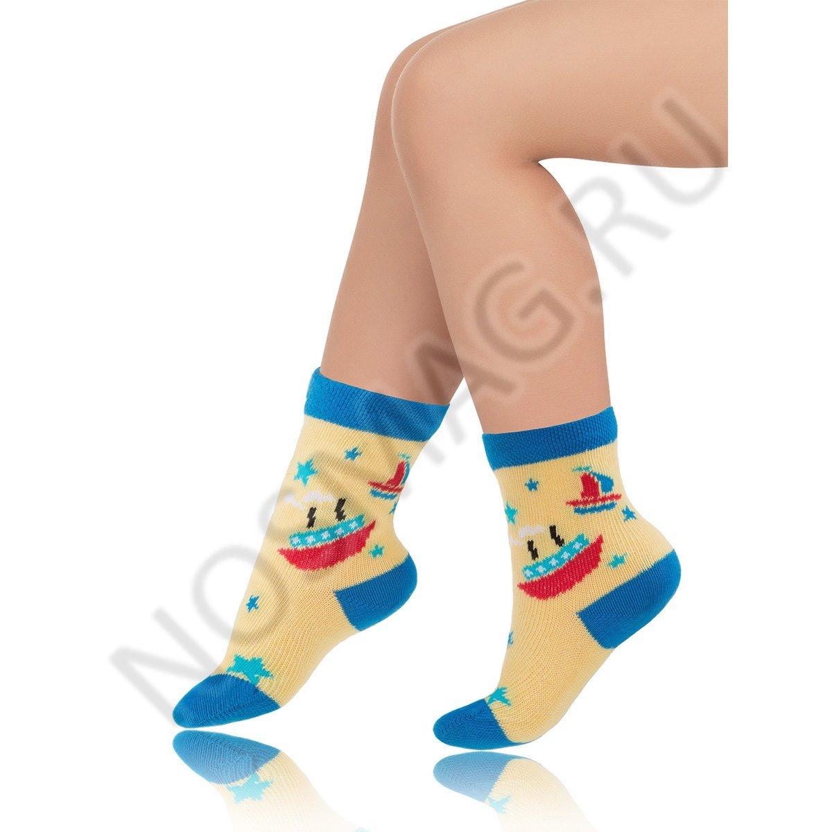 Носки детские хлопковые Charmante желтый/голубой