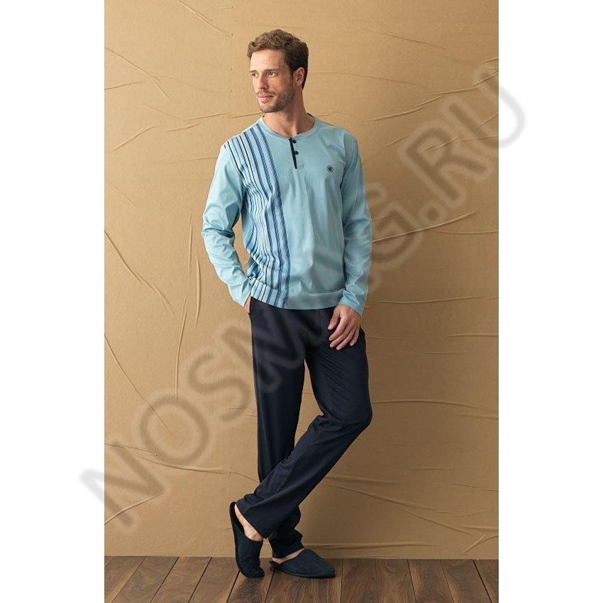 Мужская пижама blackspade ярко-синяя