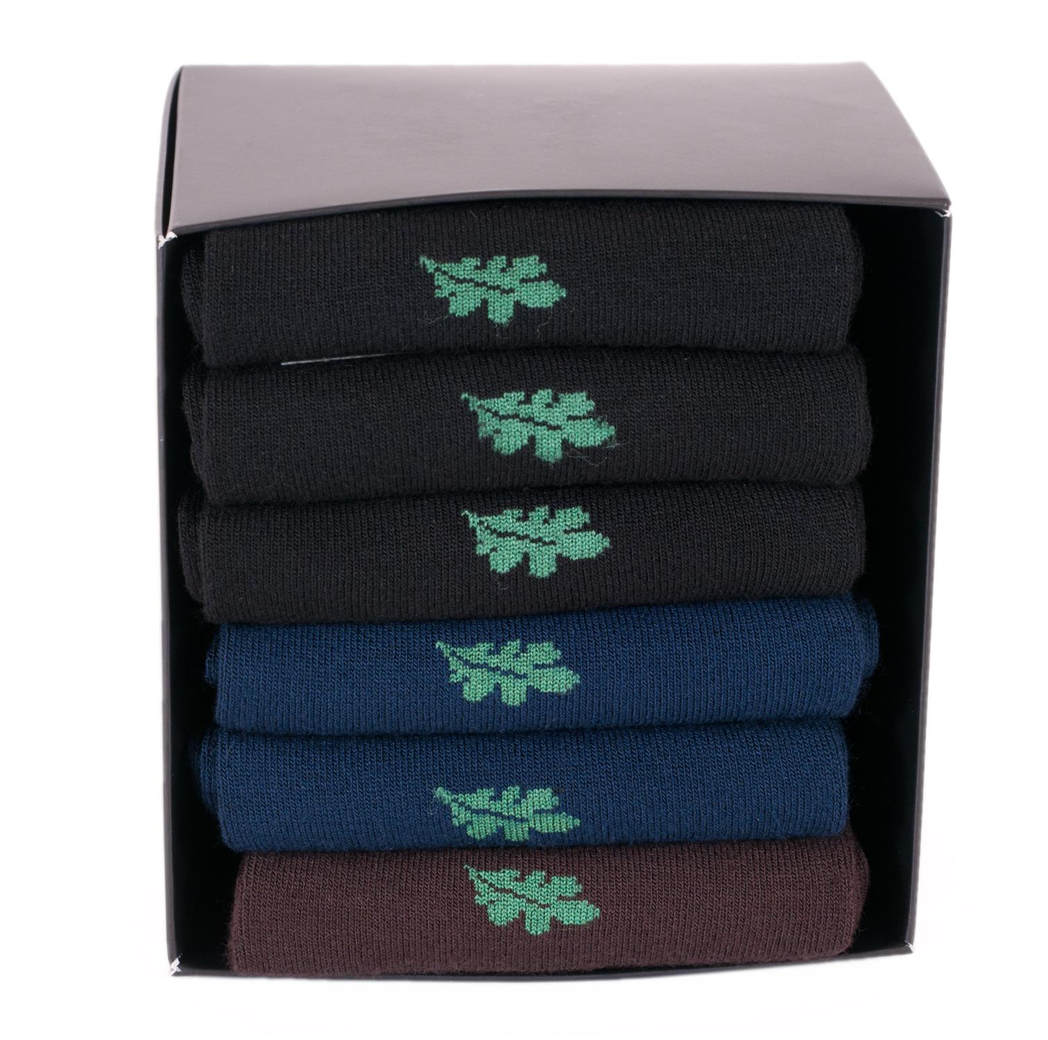 Набор из 6 пар мужских бамбуковых носков  (ТМ Grinston)