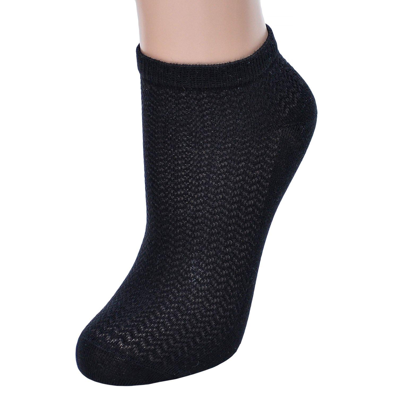 Женские спортивные носки atlantic черные