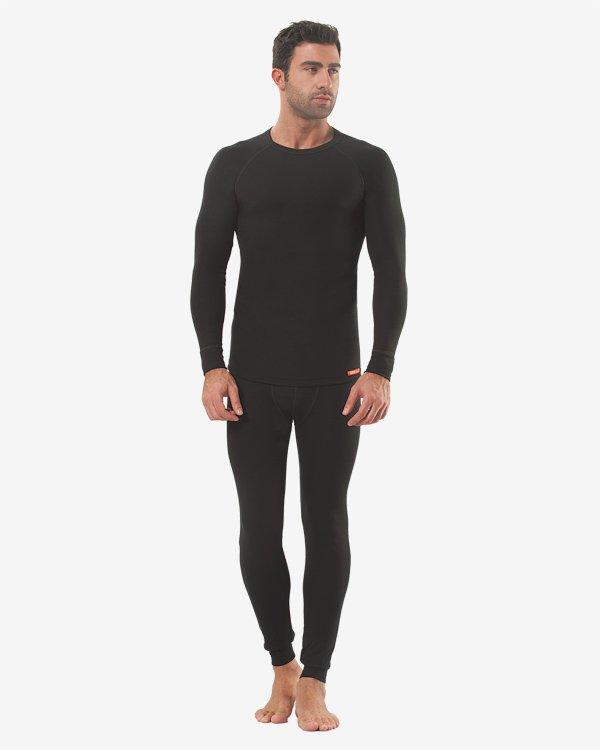 Термокомплект мужской oztas черный