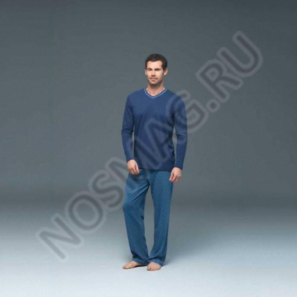 Мужской домашний костюм blackspade темно-синие