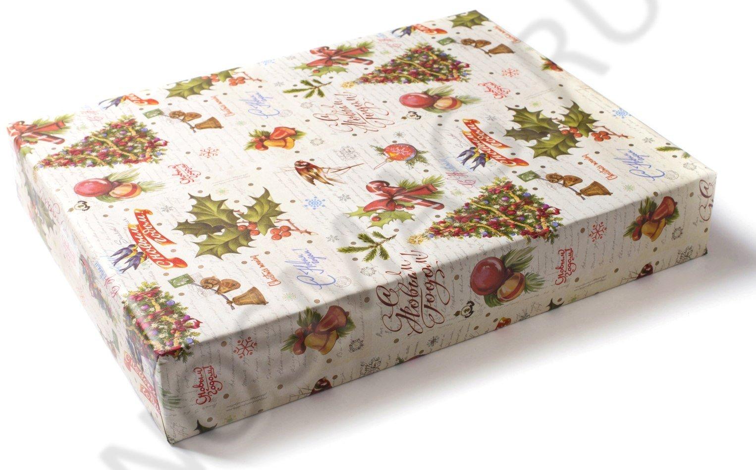 """Подарочная бумага """"Новогодняя"""""""
