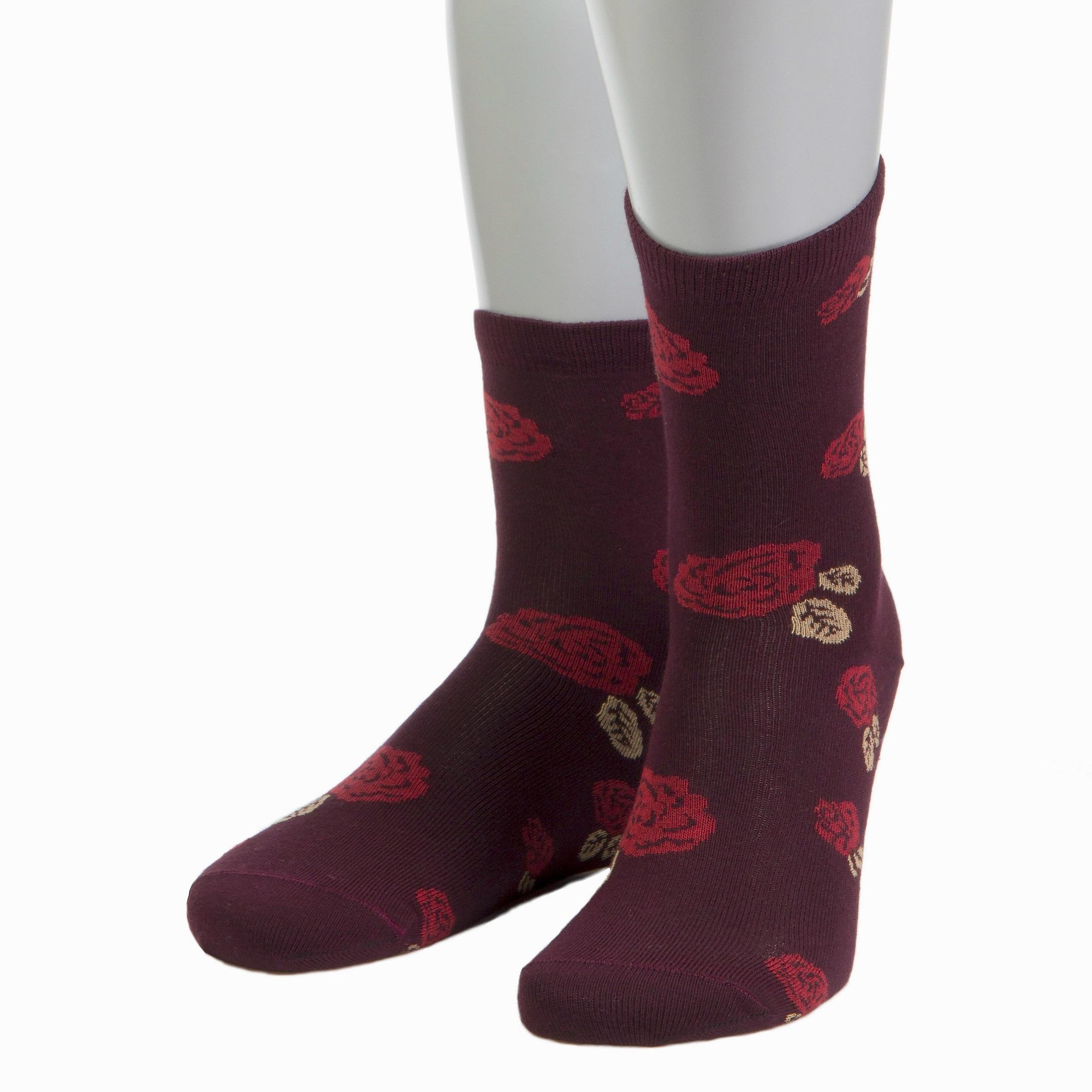 Женские носки из мерсеризованного хлопка Grinston