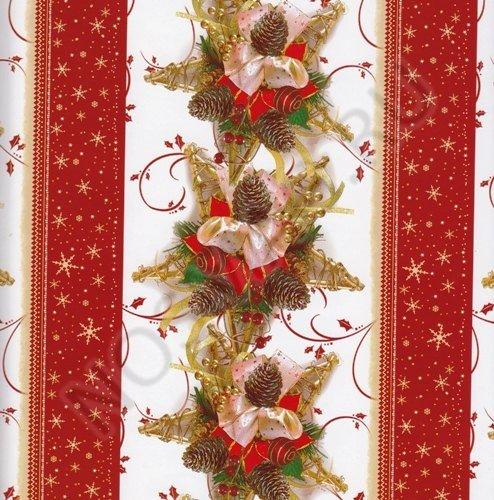 """Подарочная бумага """"Новый год в красном"""""""