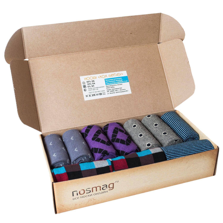 Набор носков из 10 пар в кейсе с сургучной печатью (ХОХ FANTASY)