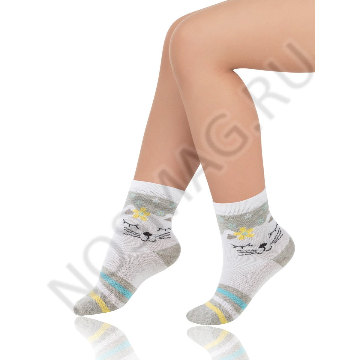 Носки детские хлопковые Charmante белые