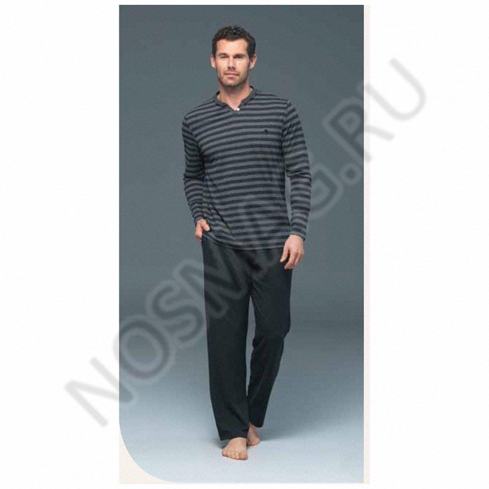 Мужской домашний костюм blackspade серый меланж