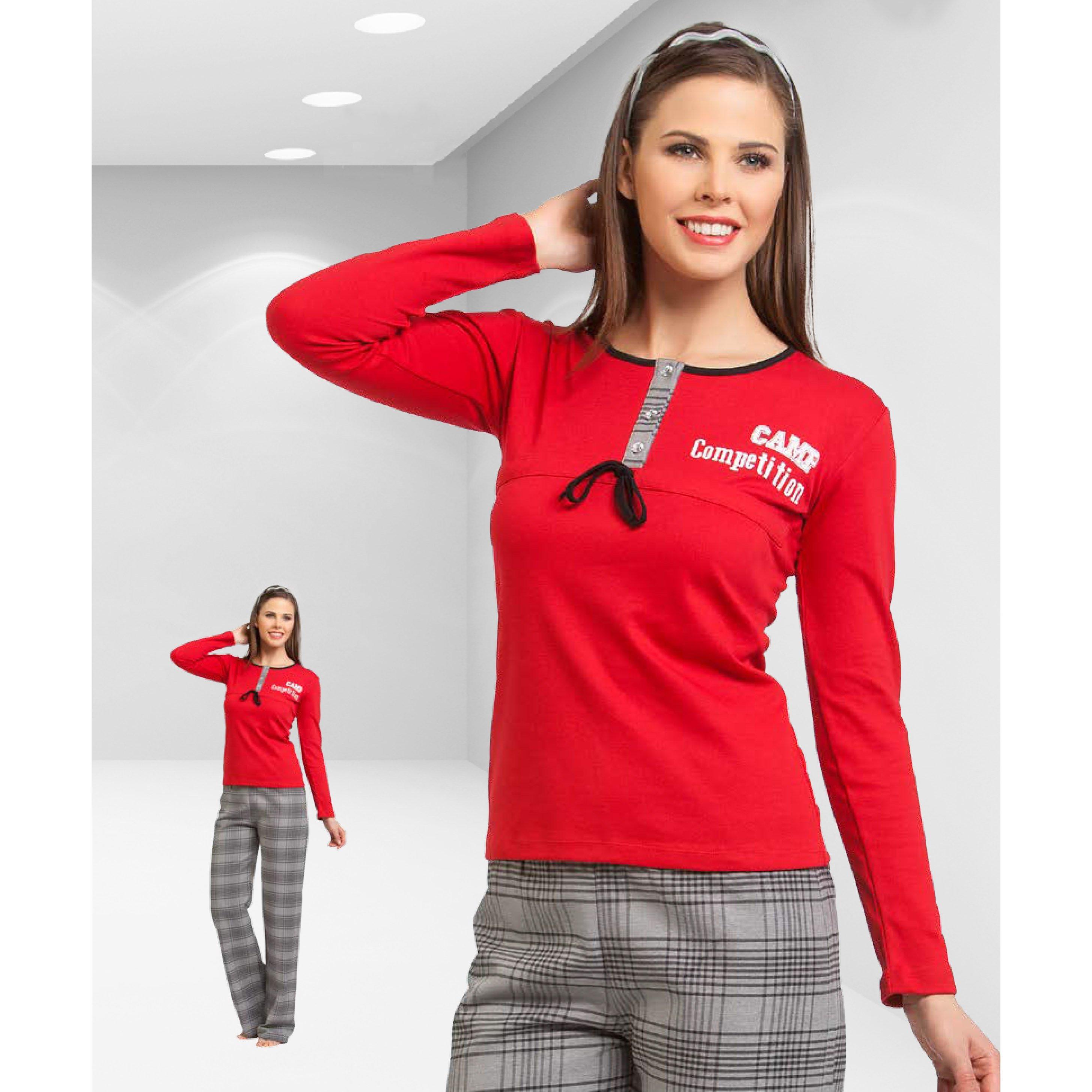 Пижама женская oztas мультиколор