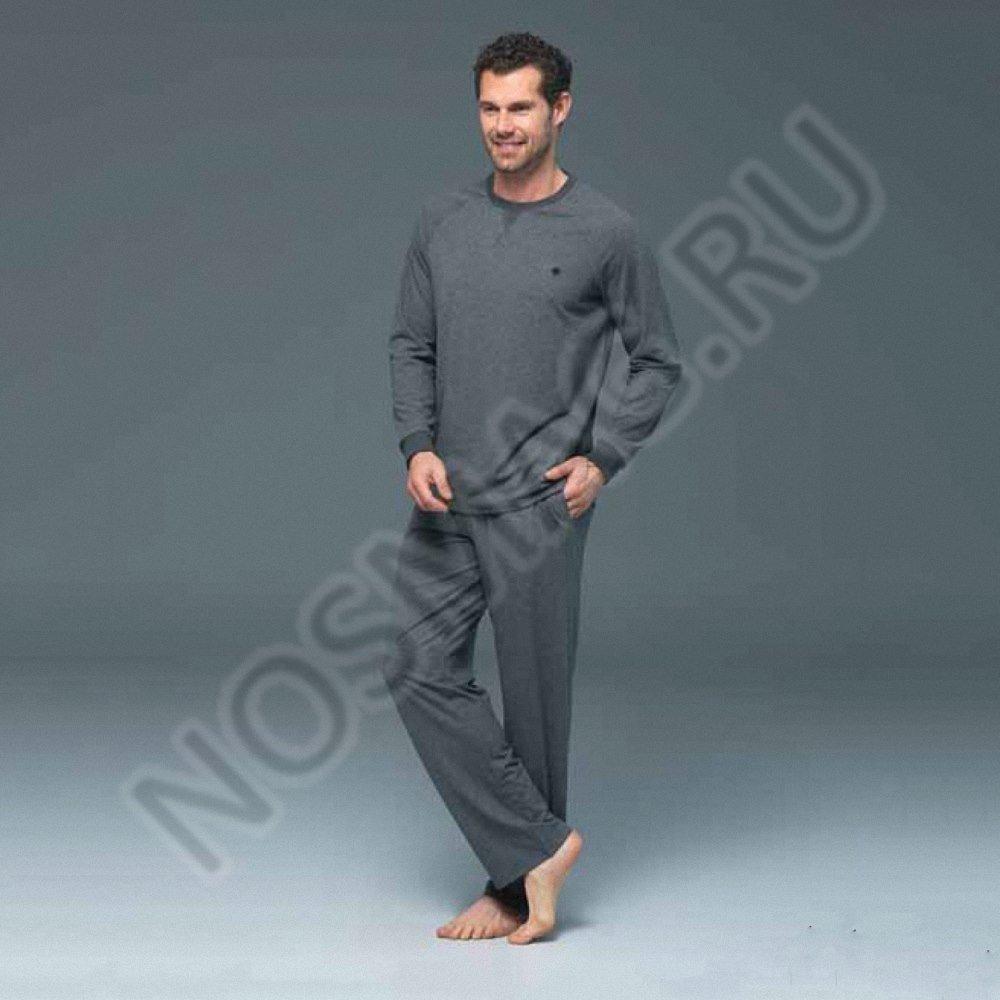 Мужской домашний костюм blackspade антрацит меланж