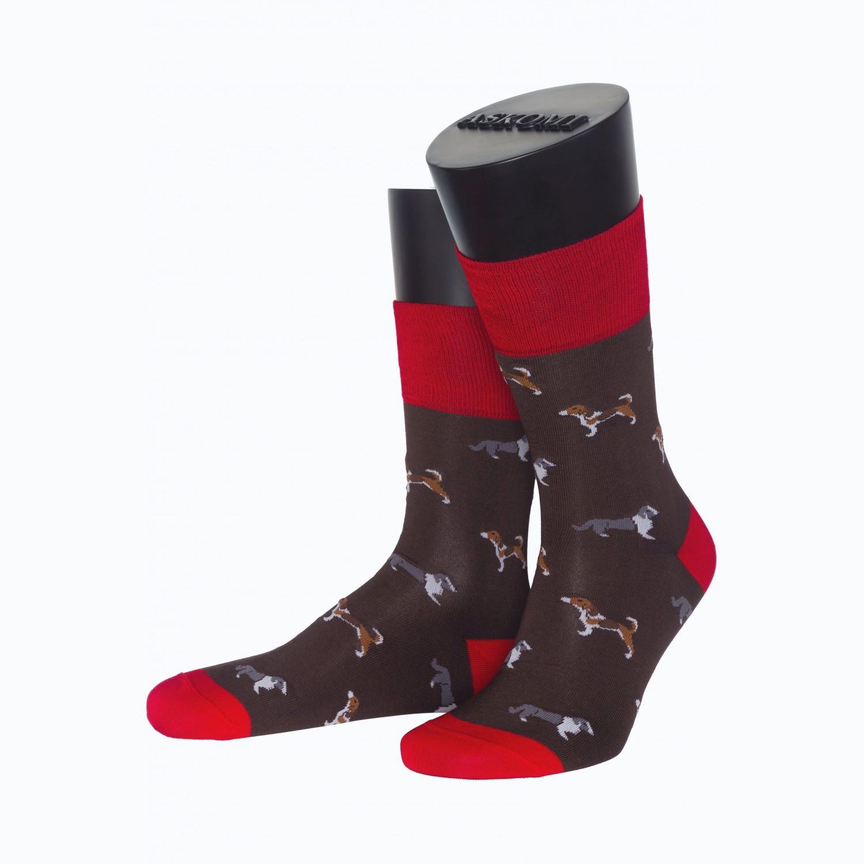 Мужские носки из мерсеризированного хлопка ASKOMI