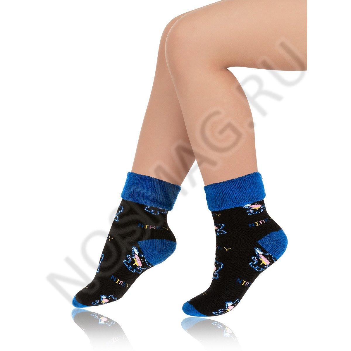 Носки детские хлопковые Charmante черные/синие