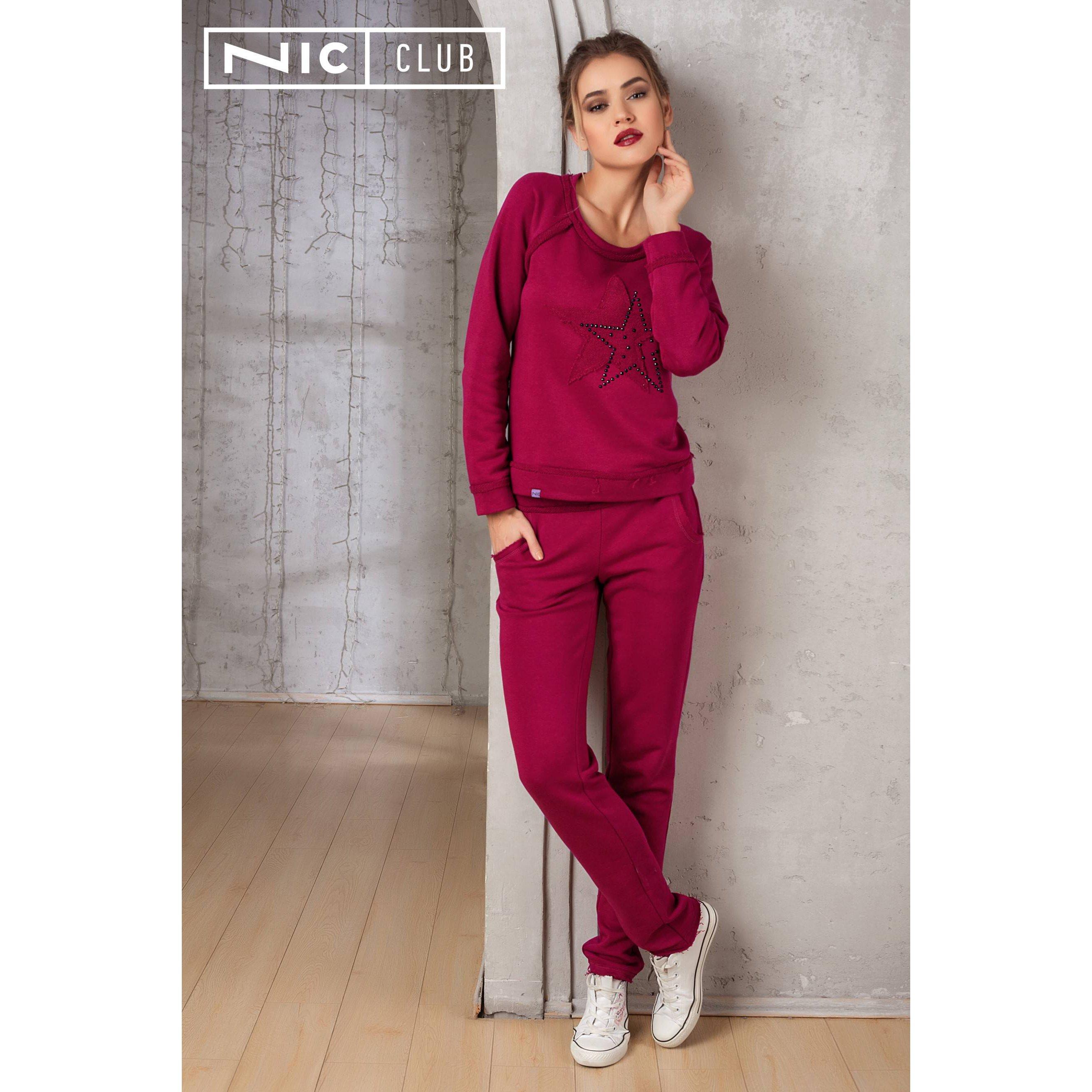 Женские домашние брюки NicClub