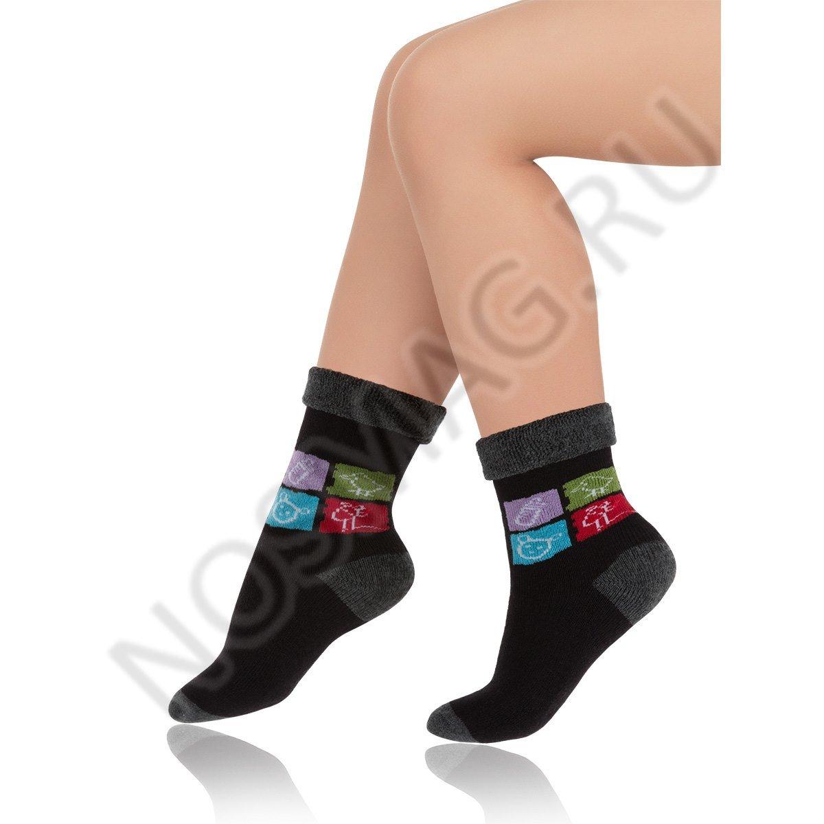 Носки детские хлопковые Charmante черные