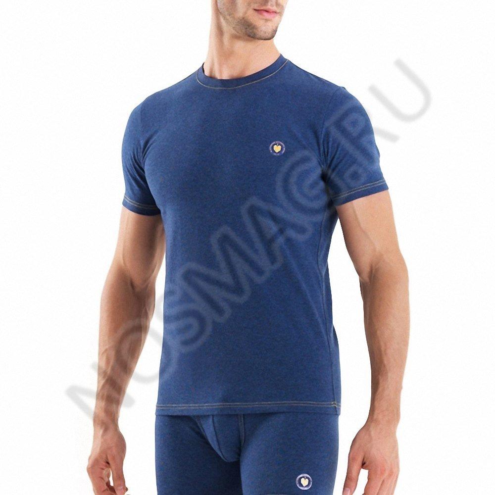 Мужская футболка blackspade синяя