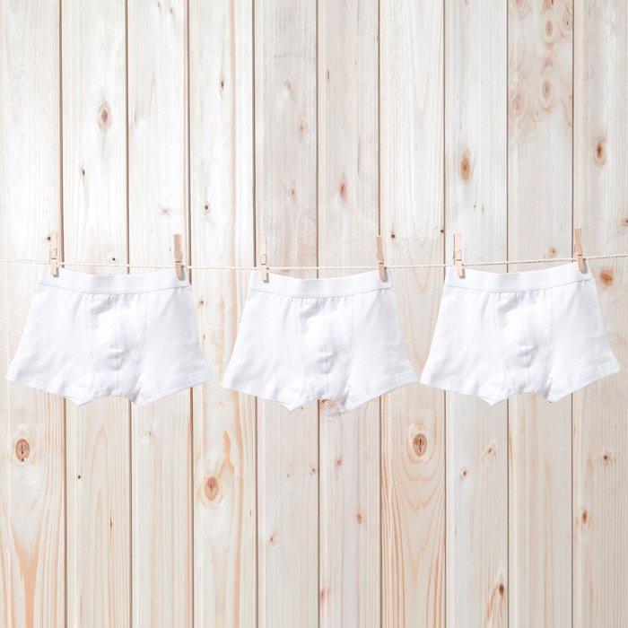Комплект трусов для мальчиков (3 шт.) blackspade белый
