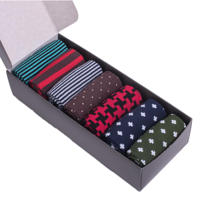 Набор из 7 пар мужских носков (НЕВА-Сокс) №НС02