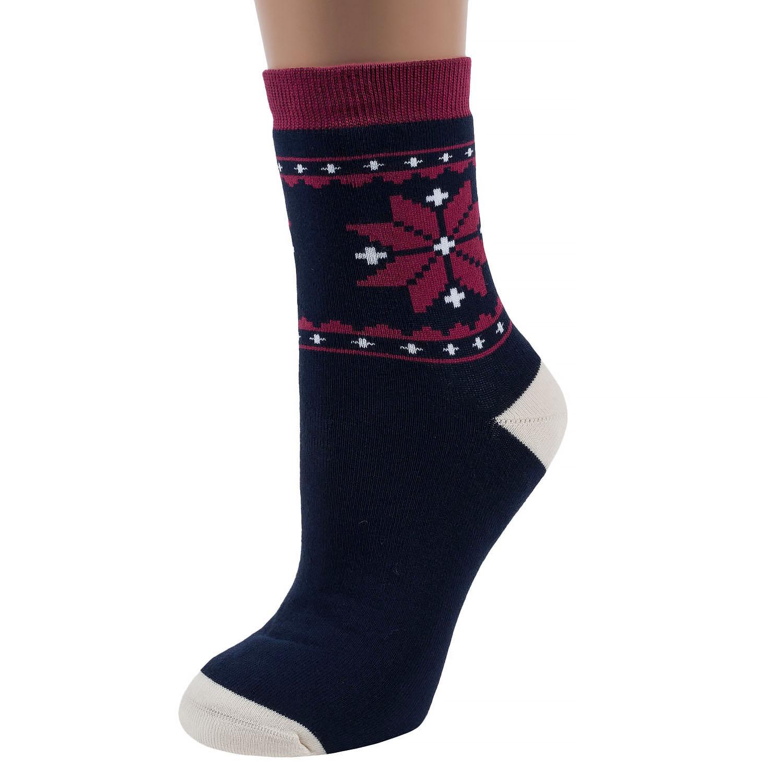Женские махровые носки ХОХ