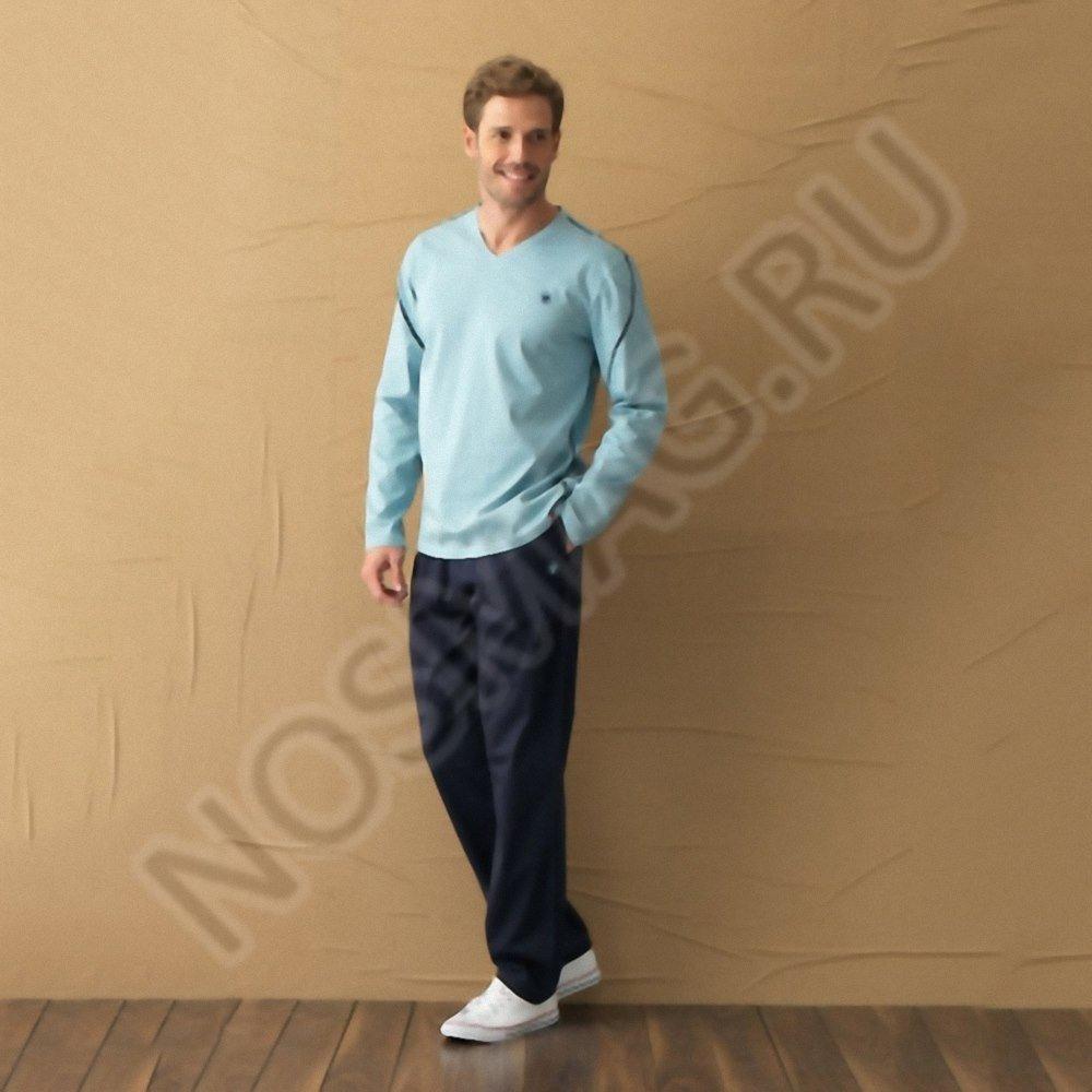 Мужская пижама blackspade синяя