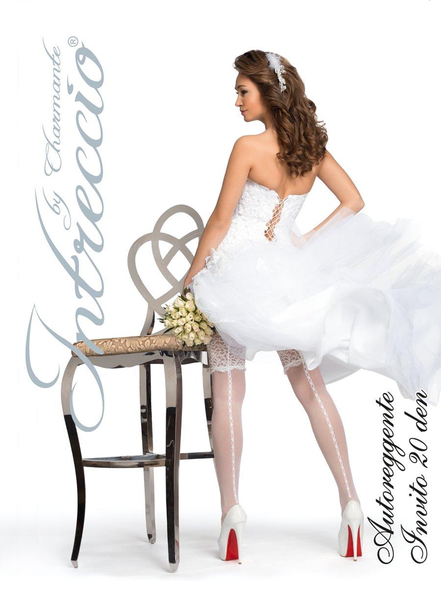 Чулки женские свадебные Charmante