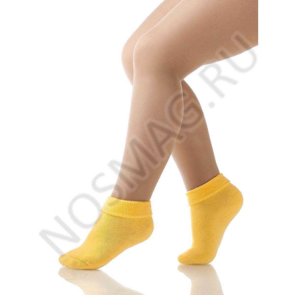 Носки детские хлопковые Charmante желтые