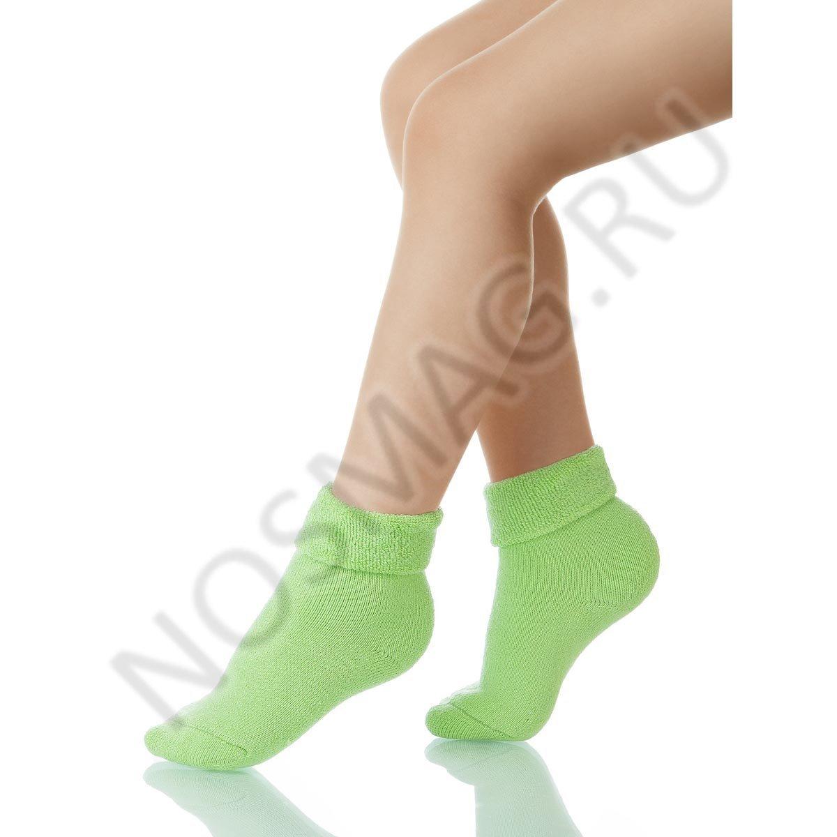 Носки детские хлопковые Charmante светло-зеленые
