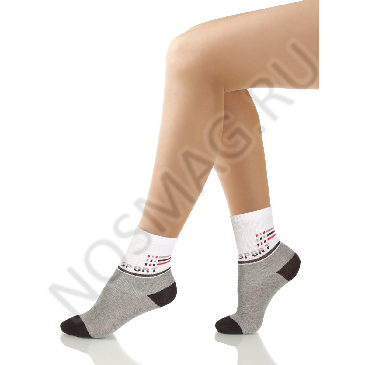 Носки детские хлопковые Charmante серый меланж