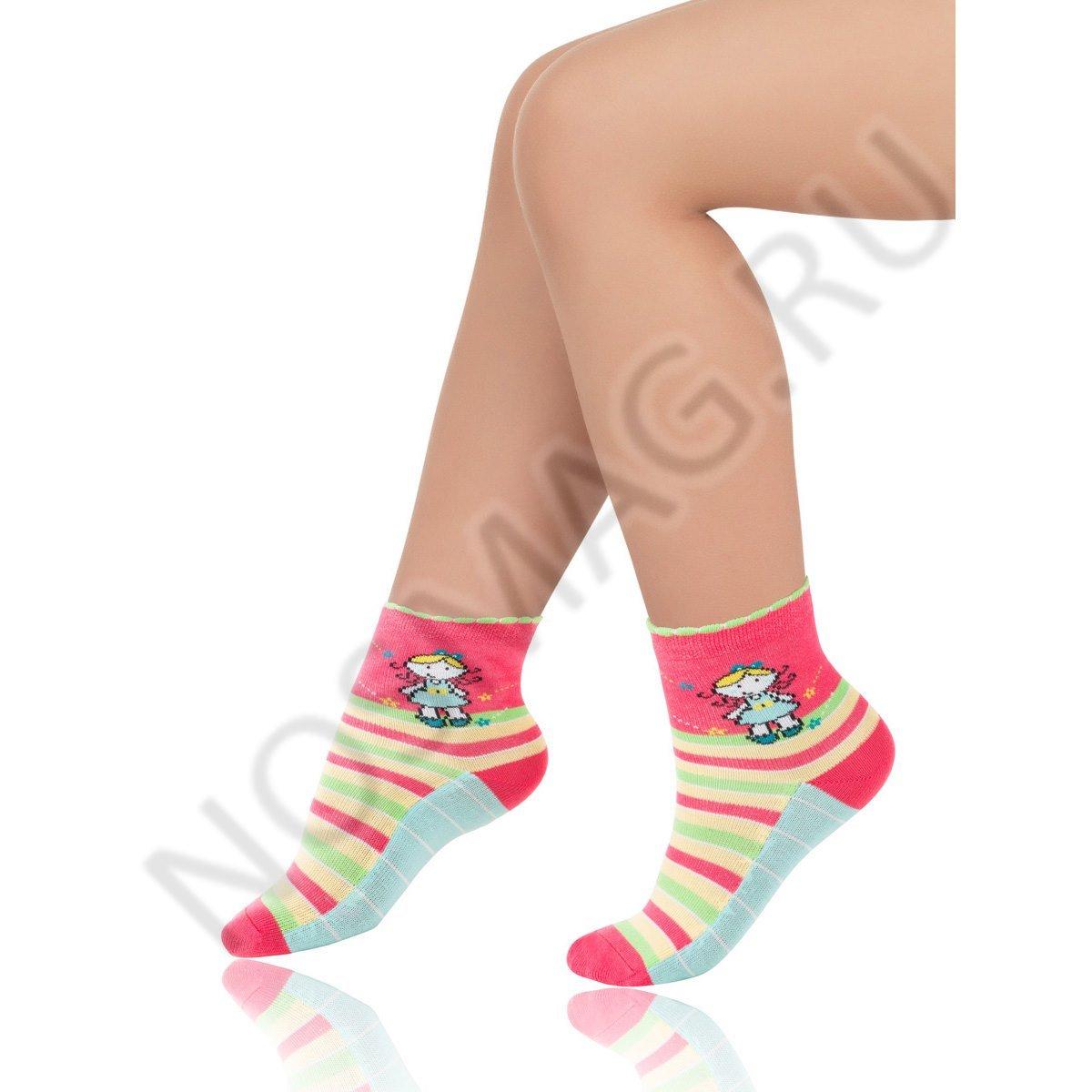 Носки детские хлопковые Charmante коралловые