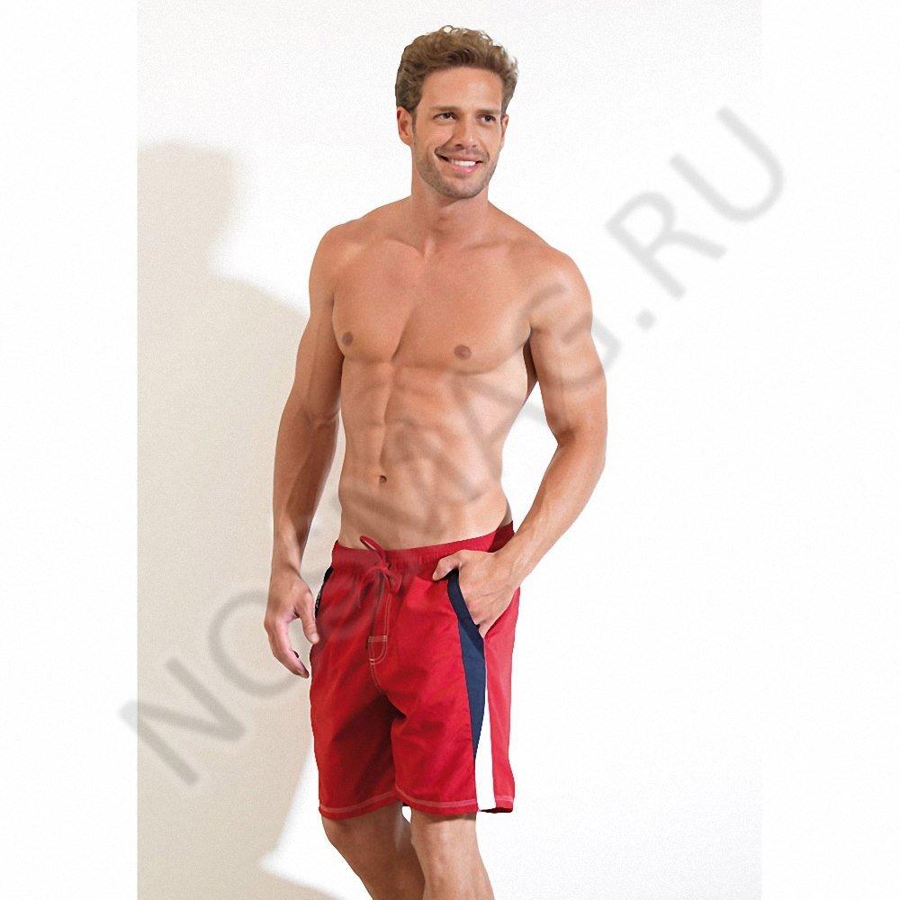 Мужские плавательные шорты blackspade красные