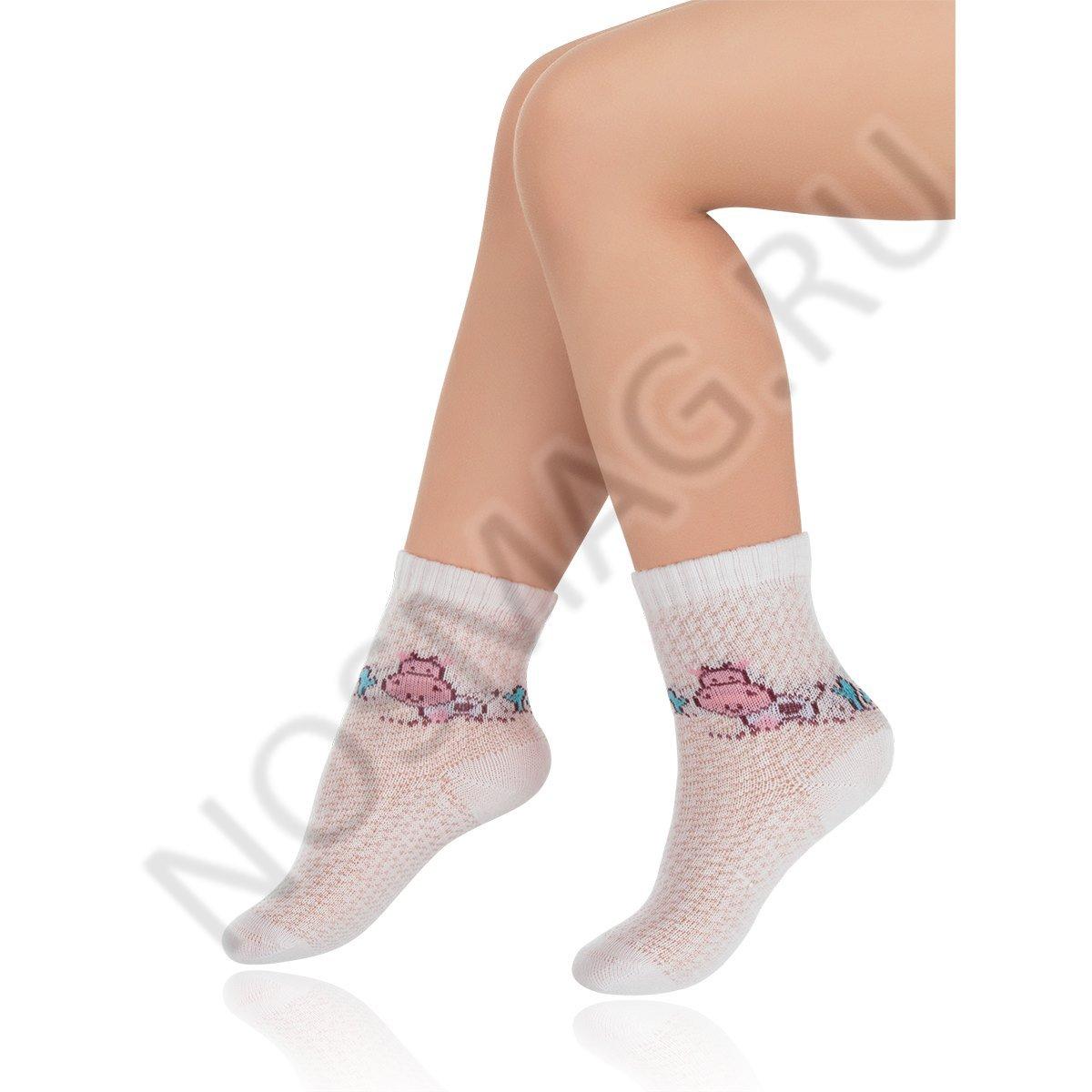Носки детские хлопковые Charmante светло-розовые
