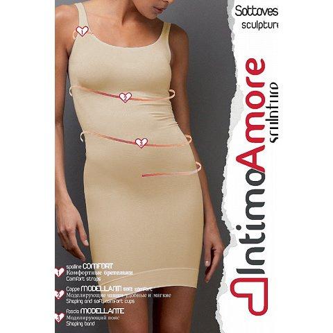Сорочка моделирующая intimoamore seamless натуральный