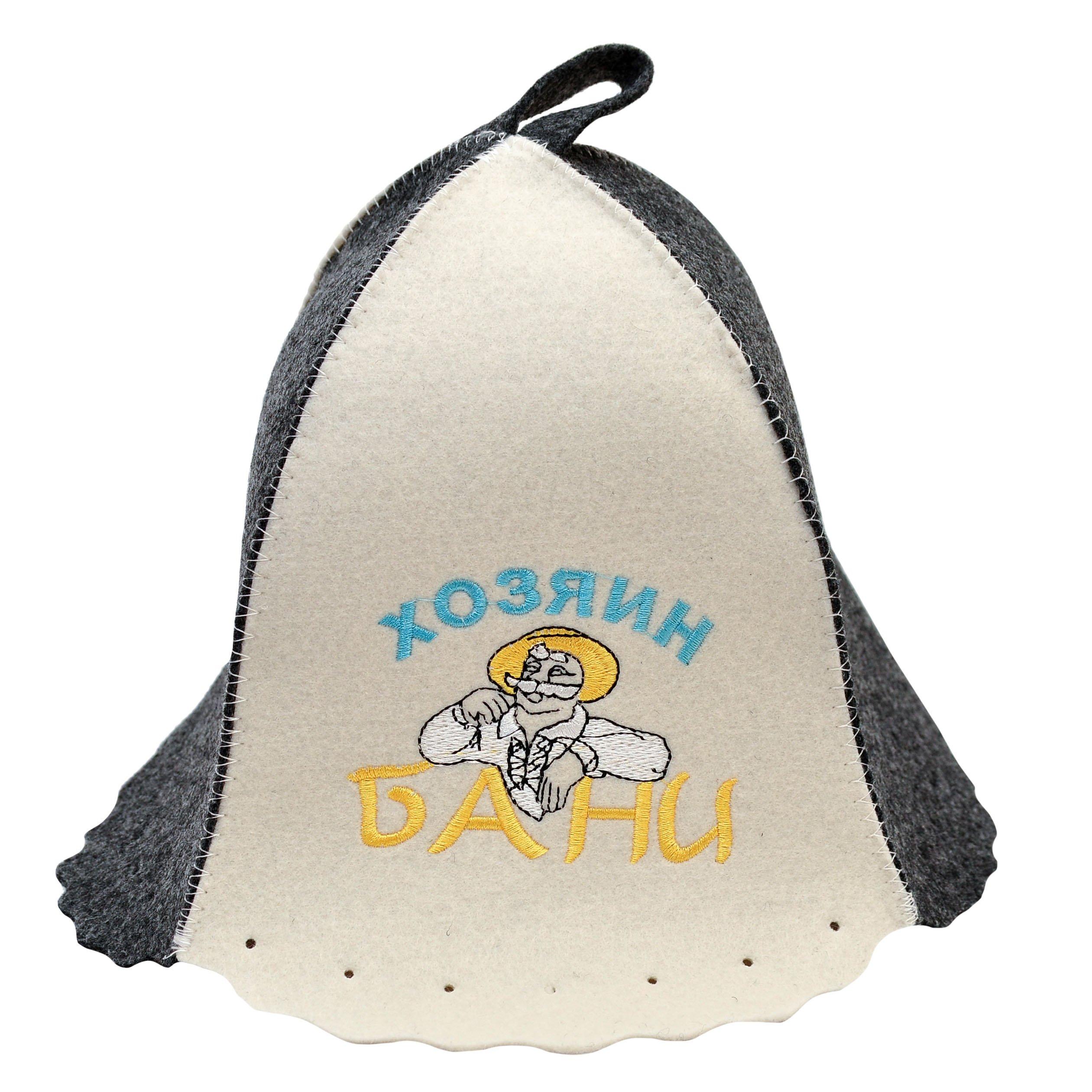 Банная шапка Главбаня