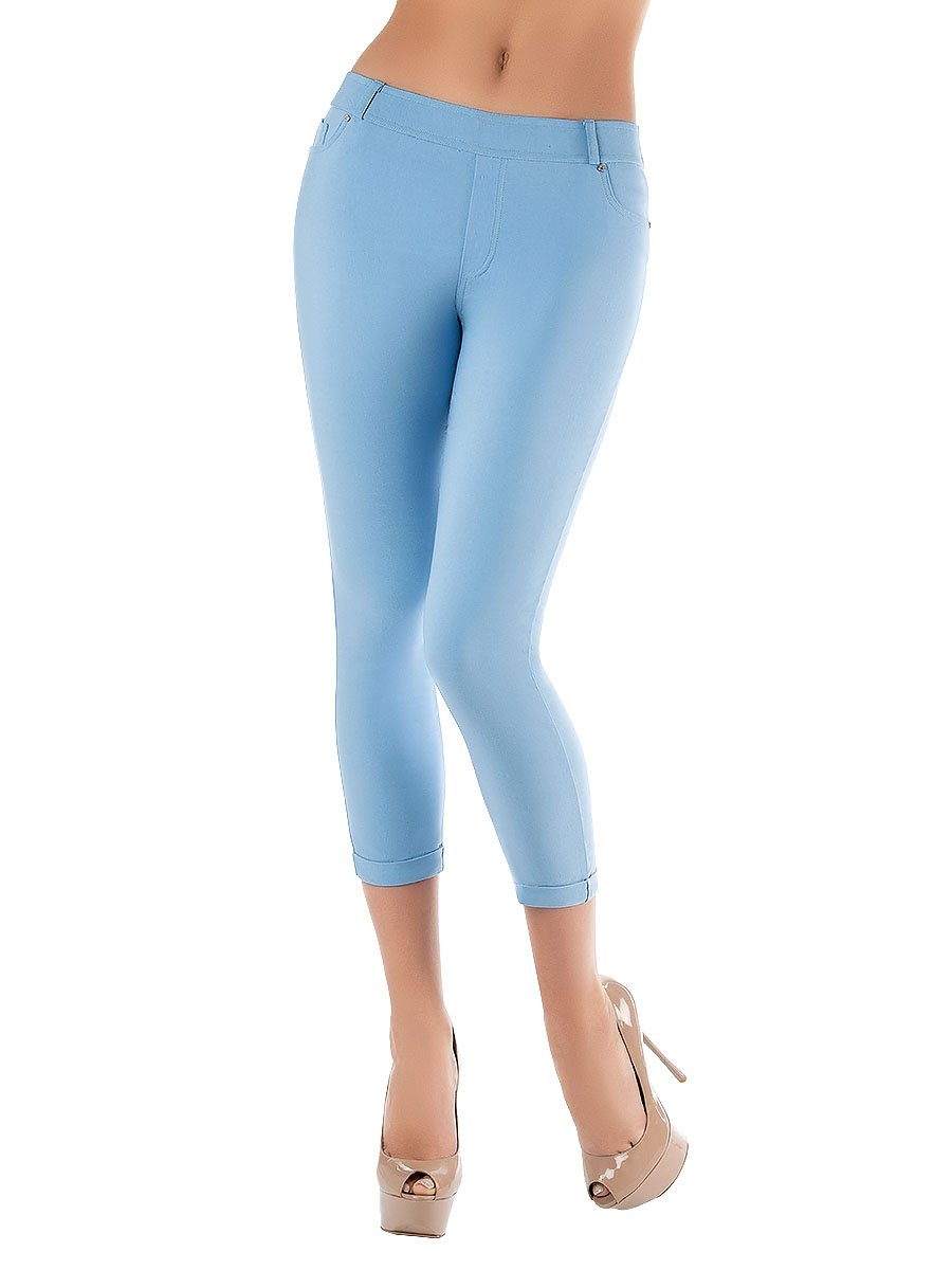 Леггинсы женские lmr1606 Charmante голубой