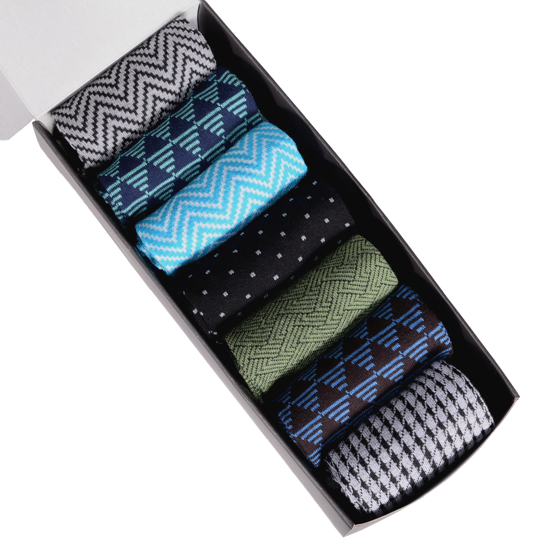 Набор из 7 пар мужских носков (НЕВА-Сокс)