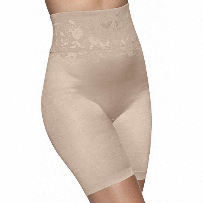 Панталоны с высокой талией bali телесный