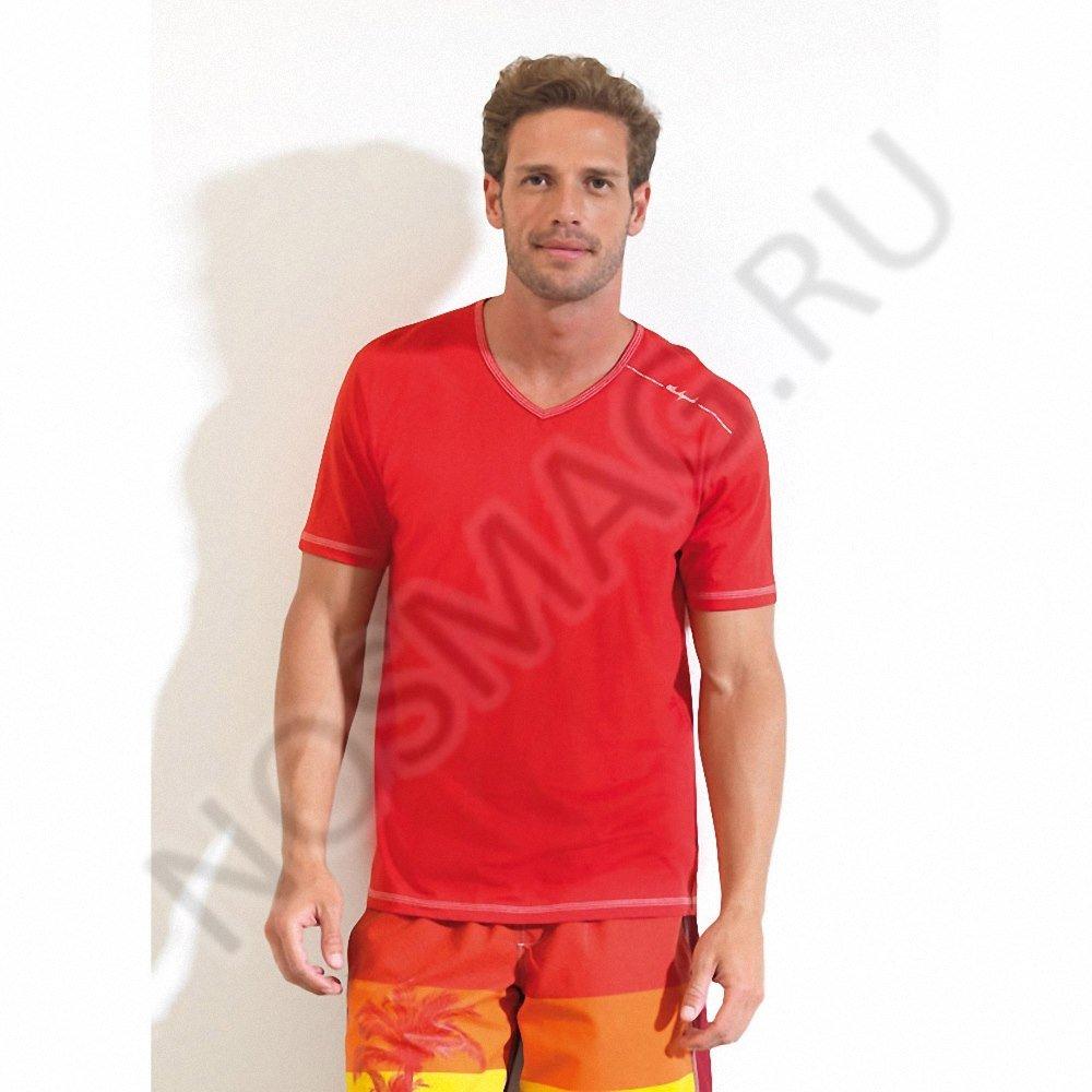 Мужская футболка blackspade красная