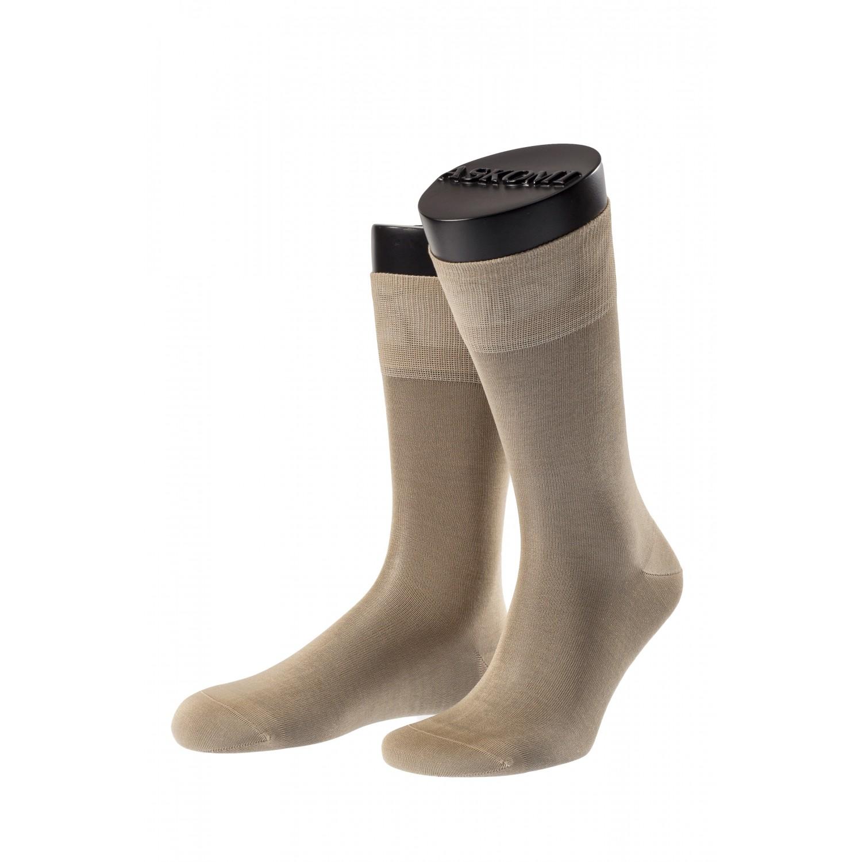 Мужские носки из 100% мерсеризованного хлопка ASKOMI
