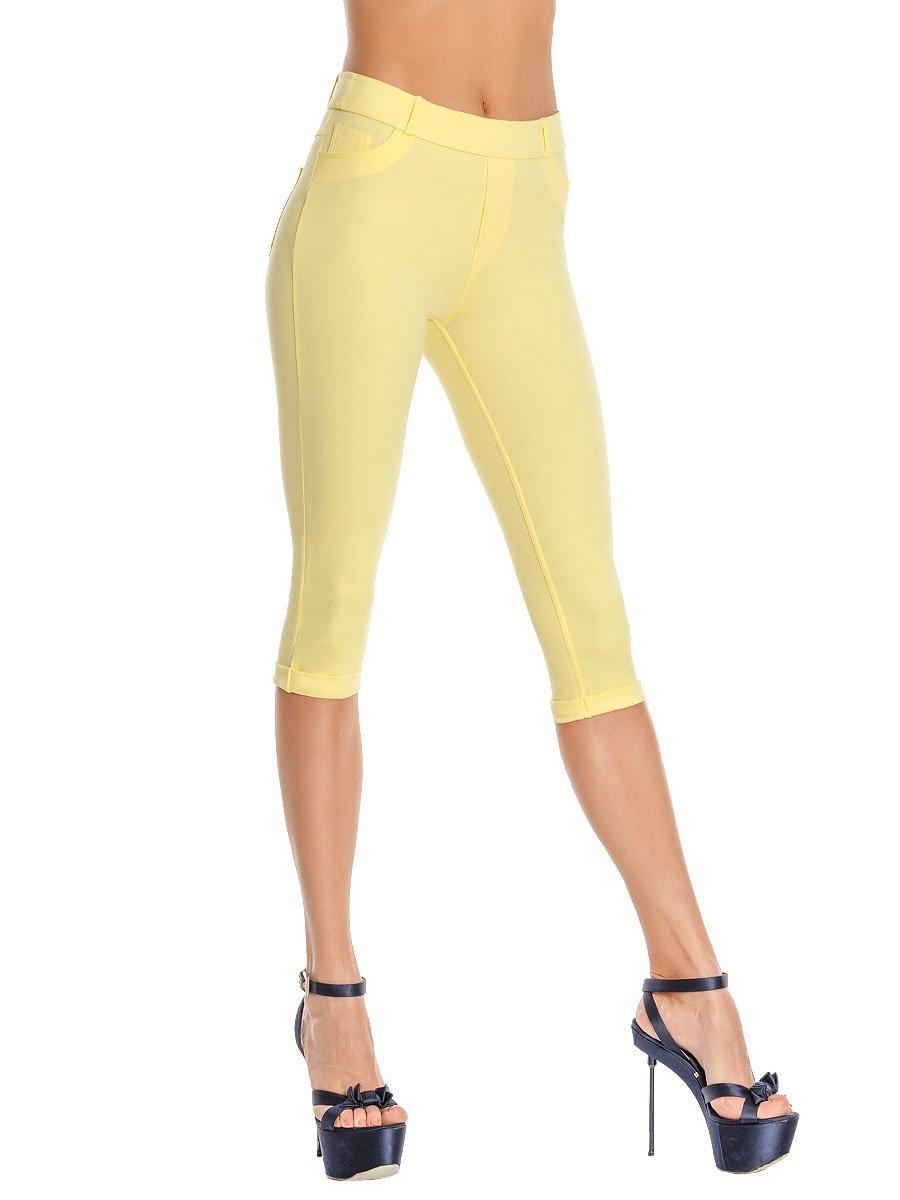 Леггинсы женские lsr1604 Charmante желтый