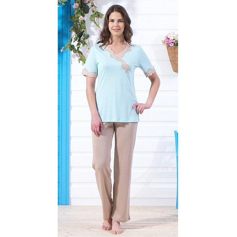 Пижама женская blackspade светло-голубой