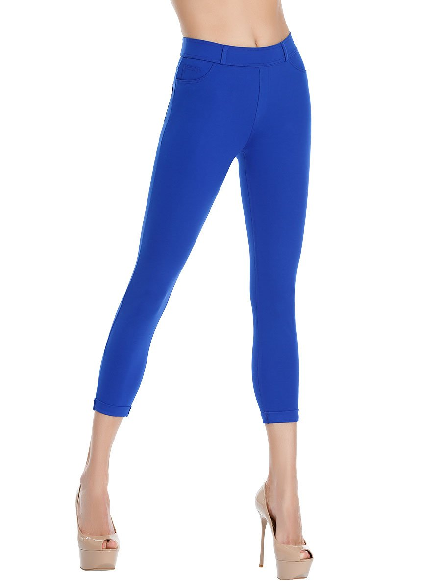 Леггинсы женские lmr1606 Charmante синий